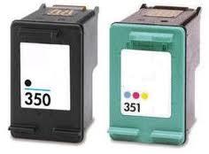 HP350XL/351XL /CB338EE/CB337EE/N°350XL/N°351XL/HP351 ( 28 + 17ml) - ECO COMPATIBLE