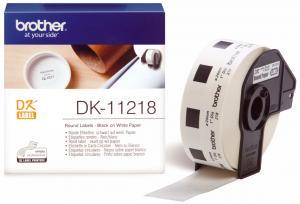 Brother DK-11218 (Noir/Blanc) - ORIGINALE