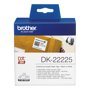 Brother DK-22225 (Noir/Blanc) - ORIGINAL
